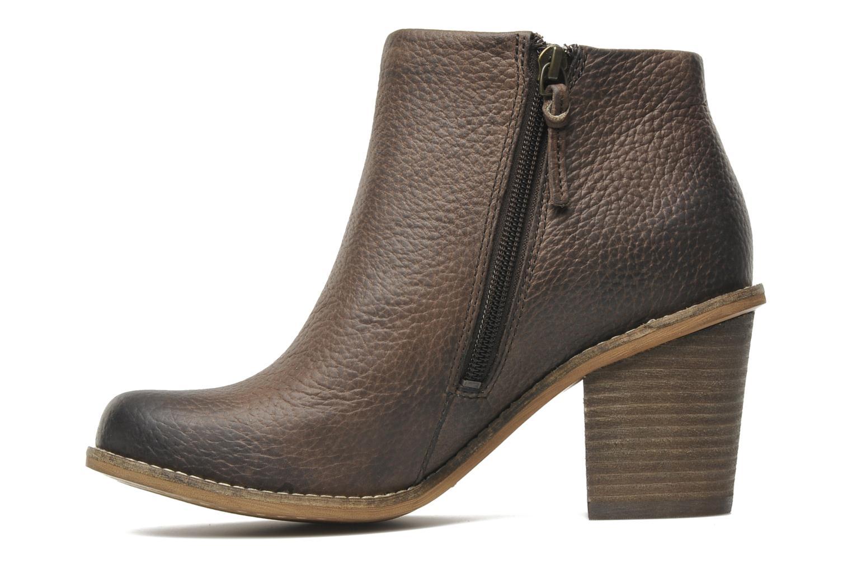 Bottines et boots Clarks Marble Cool Marron vue face