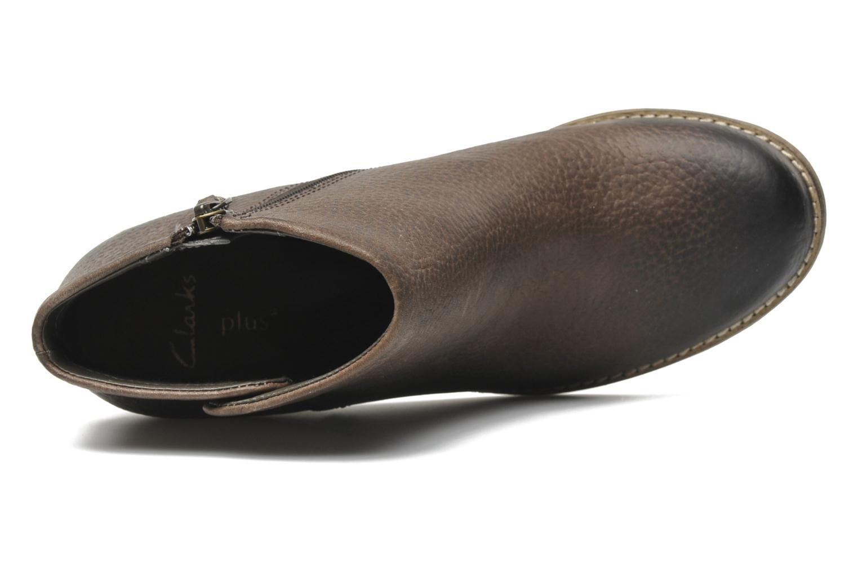 Bottines et boots Clarks Marble Cool Marron vue gauche