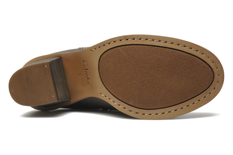 Bottines et boots Clarks Marble Cool Marron vue haut