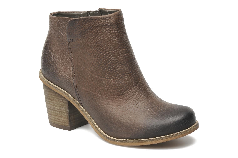 Bottines et boots Clarks Marble Cool Marron vue détail/paire