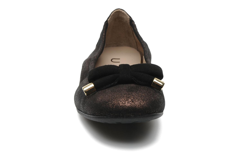Ballerines Unisa Buffy Or et bronze vue portées chaussures