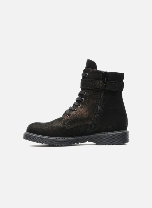 Ankle boots Unisa Meras Black front view