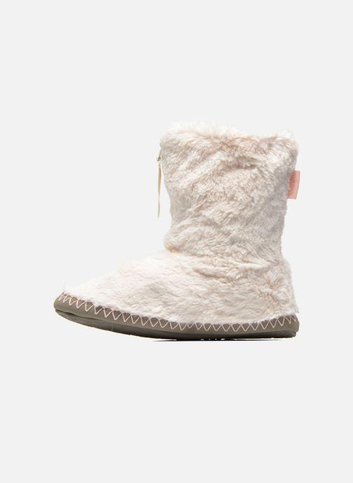 Pantofole BEDROOM ATHLETICS Monroe Beige immagine frontale