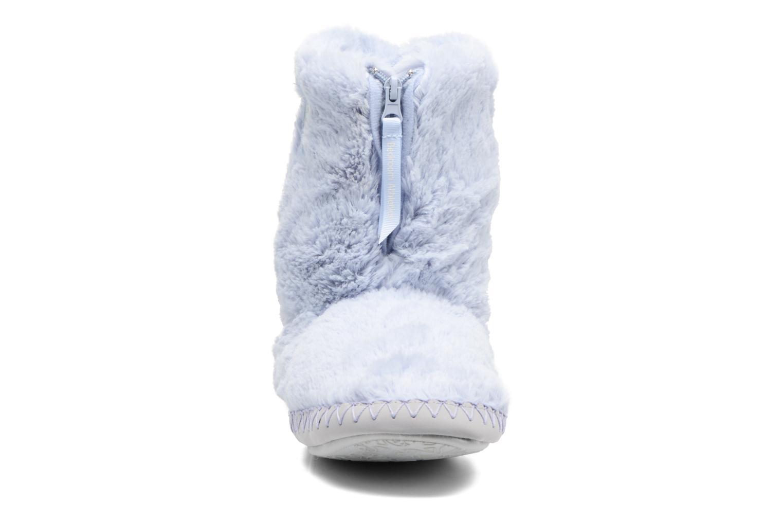 Chaussons BEDROOM ATHLETICS Monroe Bleu vue portées chaussures