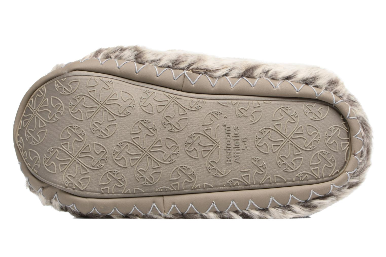 Pantuflas BEDROOM ATHLETICS Cole Beige vista de arriba