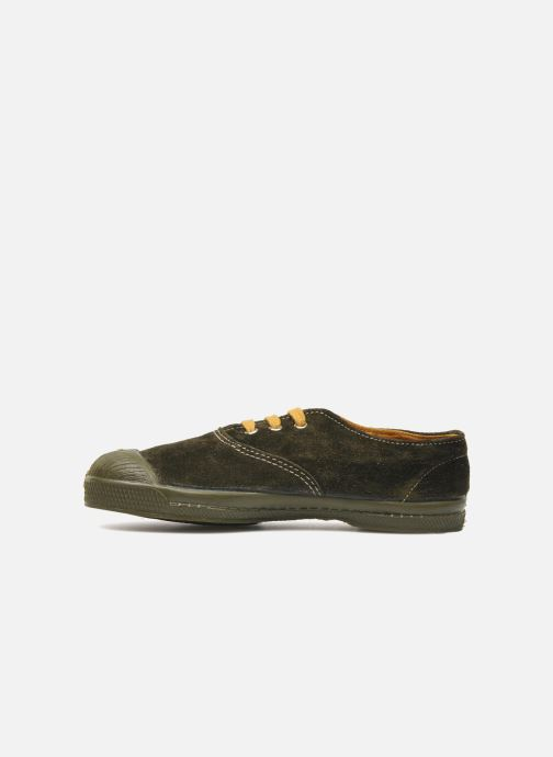 Baskets Bensimon Tennis Suedes Unies E Marron vue face