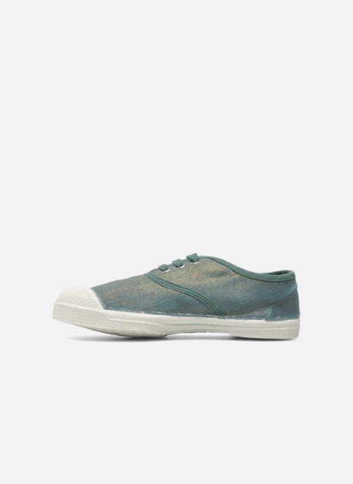 Sneakers Bensimon Tennis Glossy E Verde immagine frontale