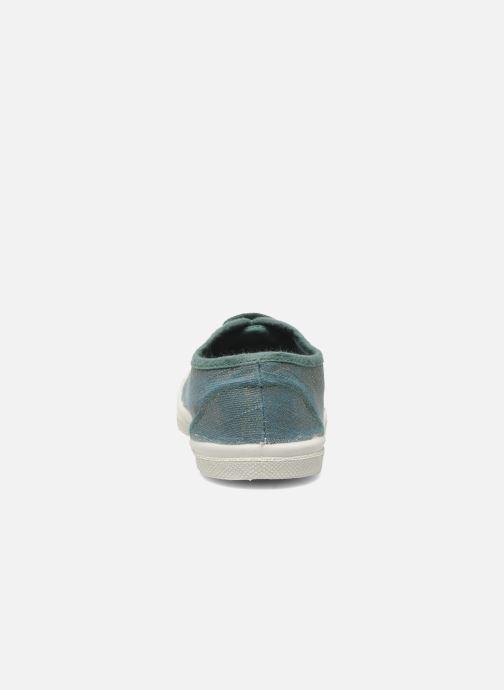 Sneakers Bensimon Tennis Glossy E Verde immagine destra