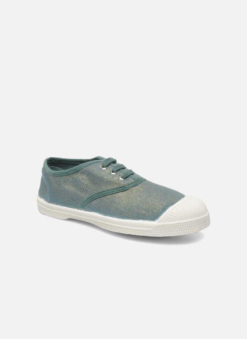 Sneakers Bensimon Tennis Glossy E Groen detail