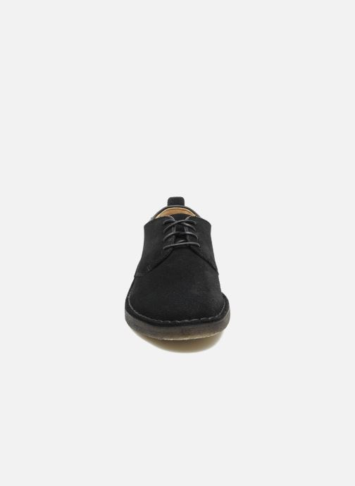 Veterschoenen Clarks Originals Desert London Zwart model