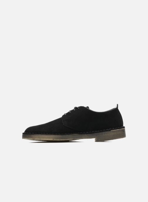 Veterschoenen Clarks Originals Desert London Zwart voorkant