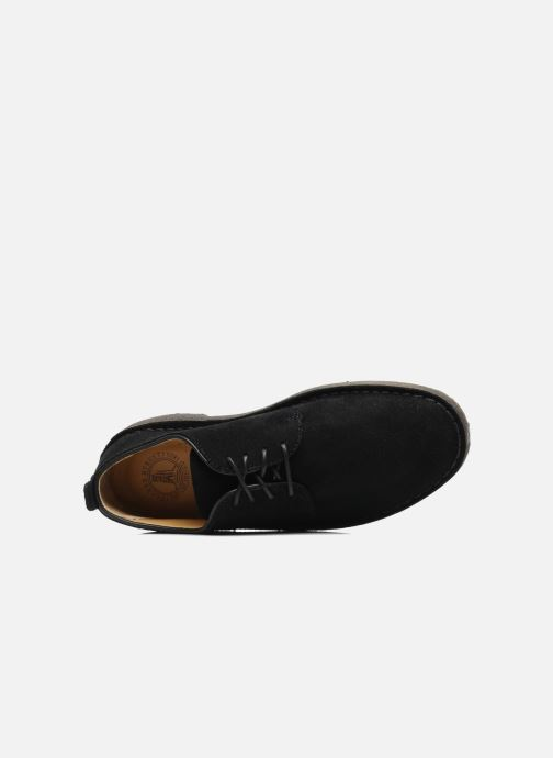 Veterschoenen Clarks Originals Desert London Zwart links