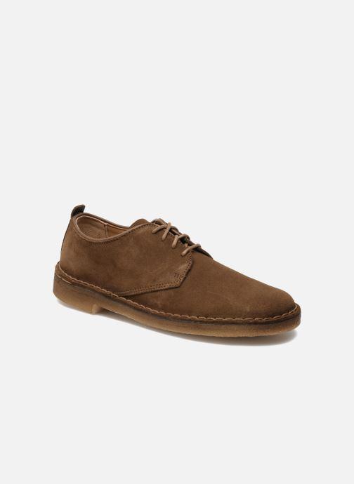 Chaussures à lacets Clarks Originals Desert London Marron vue détail paire 06b5aa541e89