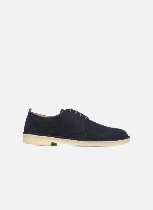 Zapatos con cordones Clarks Originals Desert London Azul vistra trasera