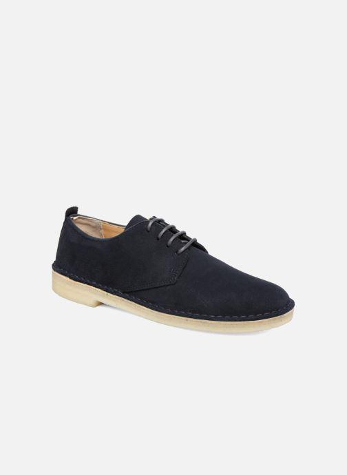 Zapatos con cordones Clarks Originals Desert London Azul vista de detalle / par