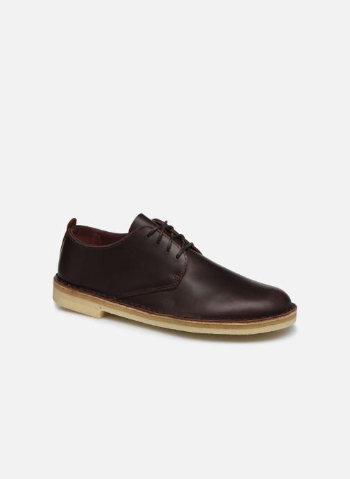 Chaussures à lacets Clarks Originals Desert London Marron vue détail/paire