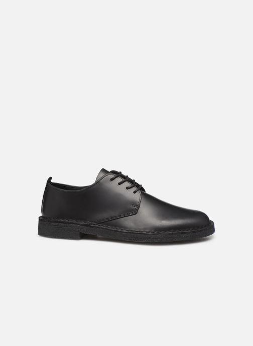 Chaussures à lacets Clarks Originals Desert London Noir vue derrière