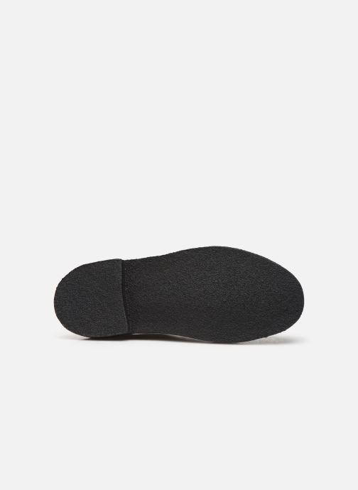 Chaussures à lacets Clarks Originals Desert London Noir vue haut
