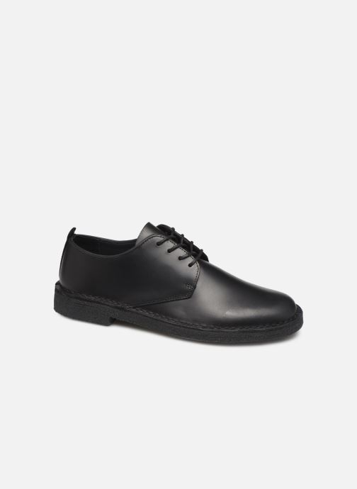 Zapatos con cordones Clarks Originals Desert London Negro vista de detalle / par