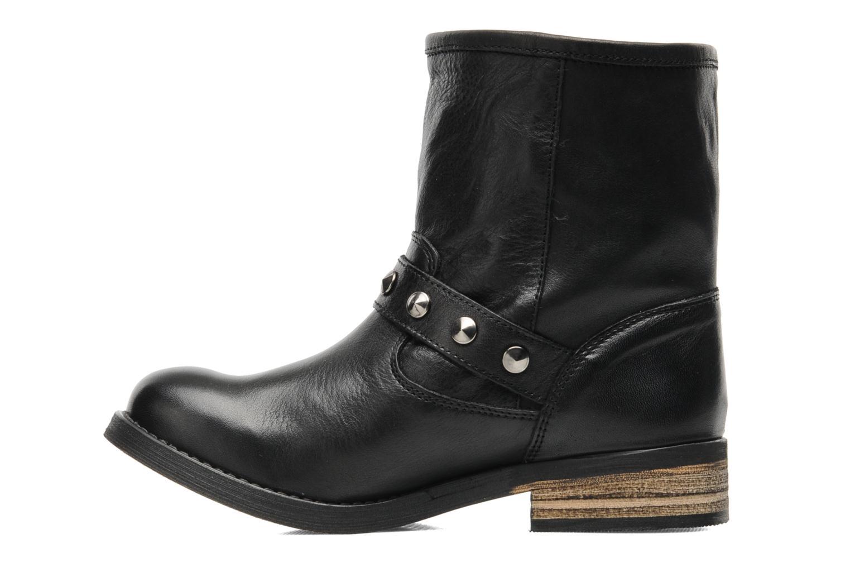 Bottines et boots Buffalo Biman Noir vue face