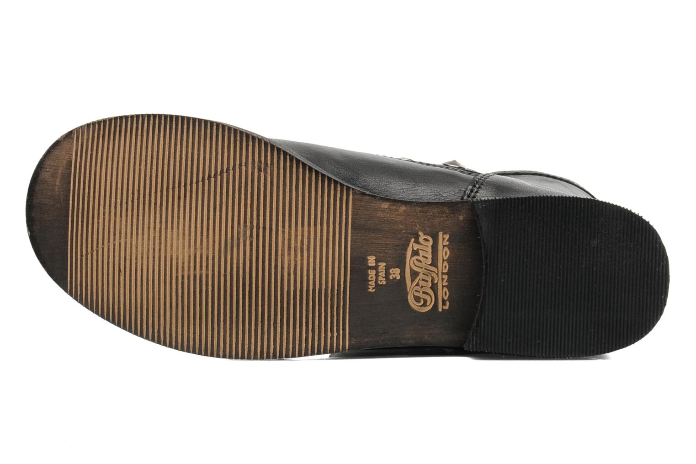 Bottines et boots Buffalo Biman Noir vue haut