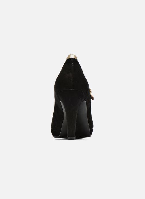 Zapatos de tacón Anna Volodia Marcia Negro vista lateral derecha