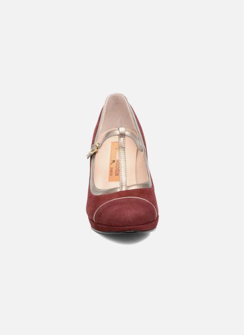 Escarpins Anna Volodia Marcia Rouge vue portées chaussures