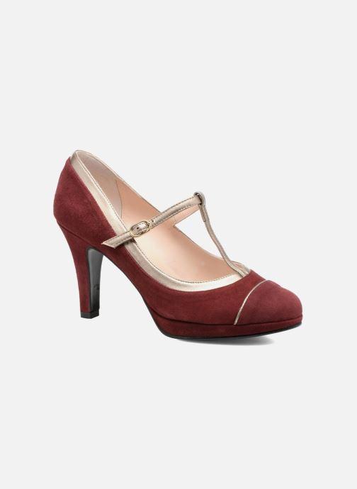 Høje hæle Anna Volodia Marcia Rød detaljeret billede af skoene
