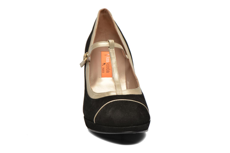 Escarpins Anna Volodia Marcia Noir vue portées chaussures
