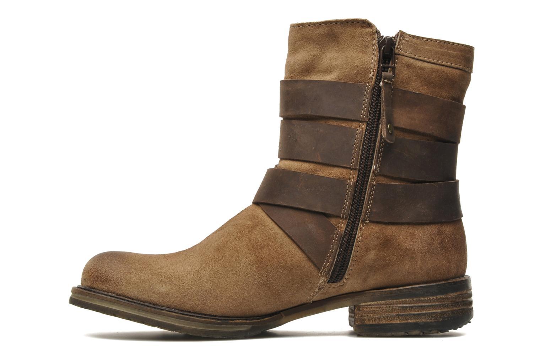Stivaletti e tronchetti Mustang shoes Mokia Beige immagine frontale