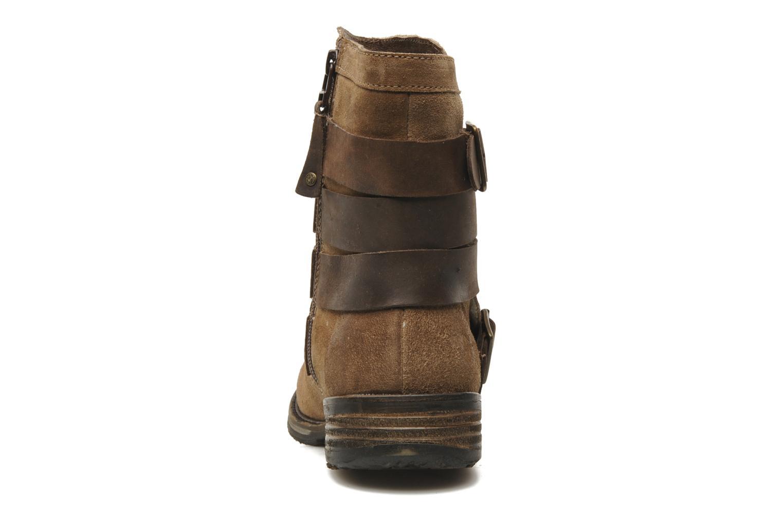 Stivaletti e tronchetti Mustang shoes Mokia Beige immagine destra