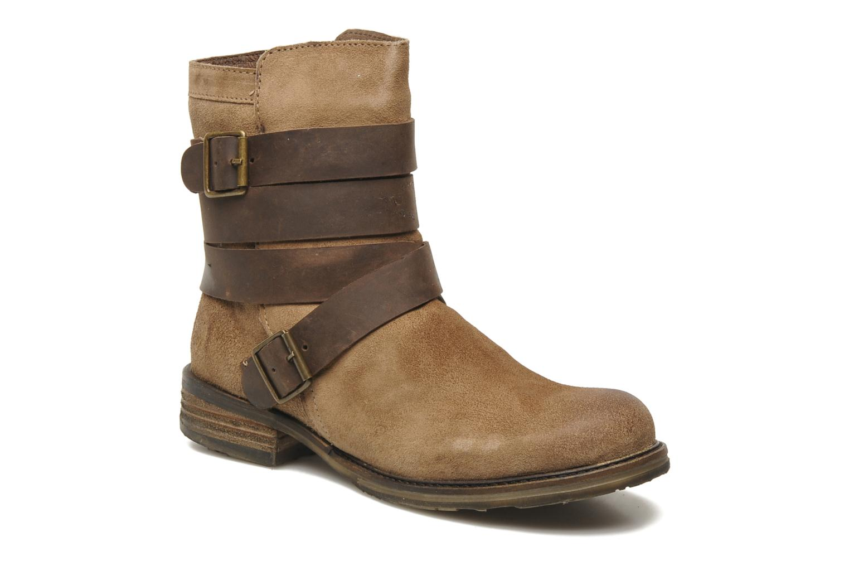 Stivaletti e tronchetti Mustang shoes Mokia Beige vedi dettaglio/paio