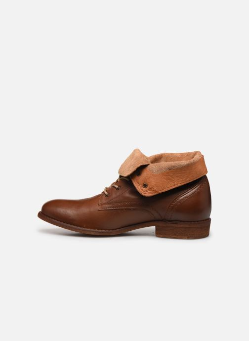 Ankle boots Mustang shoes Multa Brown front view