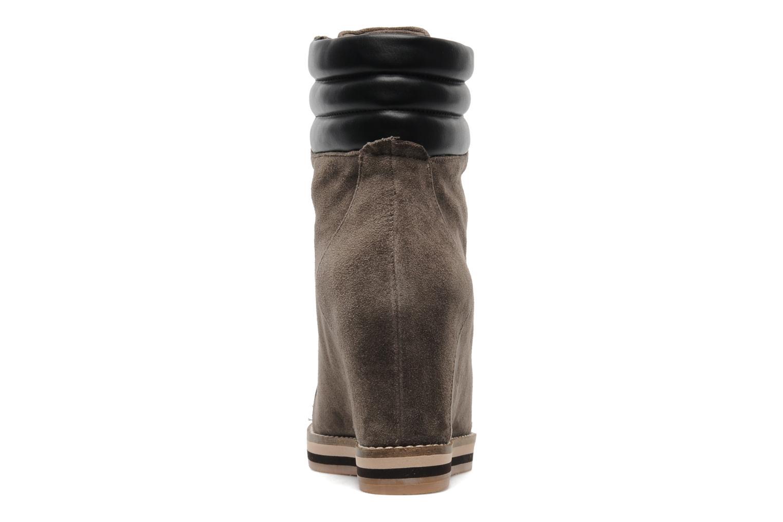 Bottines et boots Luciano Barachini Aconit Gris vue droite