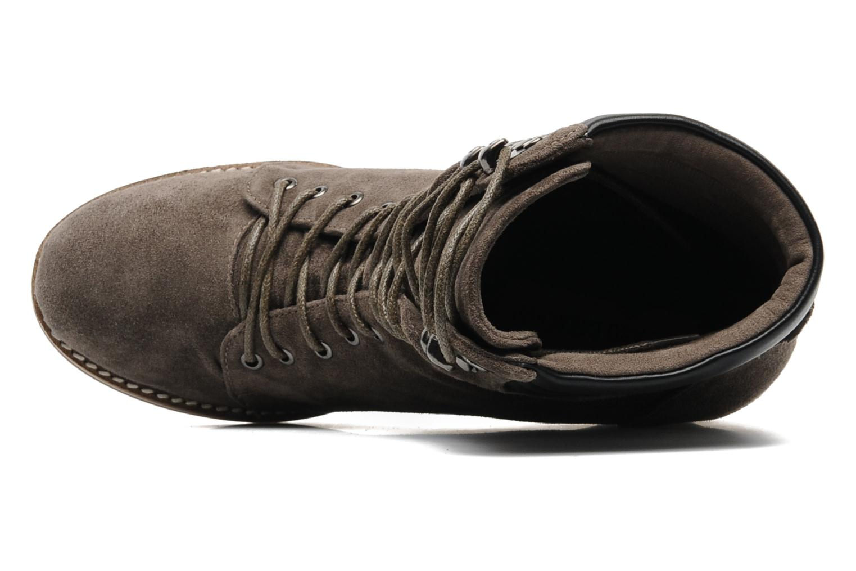 Bottines et boots Luciano Barachini Aconit Gris vue gauche