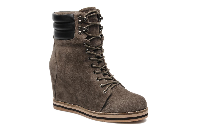 Bottines et boots Luciano Barachini Aconit Gris vue détail/paire