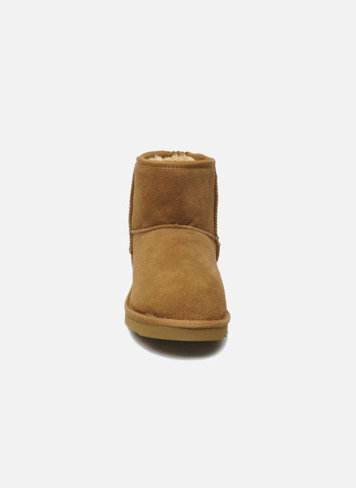 Ankle boots Les Tropéziennes par M Belarbi Flocon Brown model view