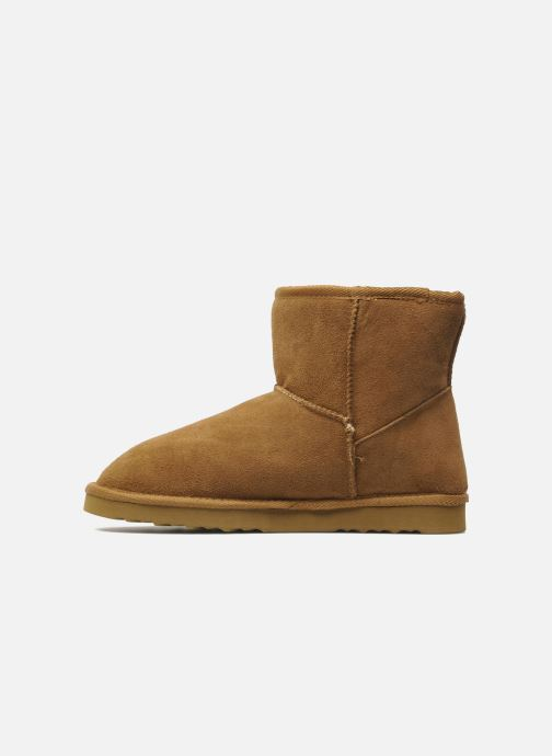 Ankle boots Les Tropéziennes par M Belarbi Flocon Brown front view