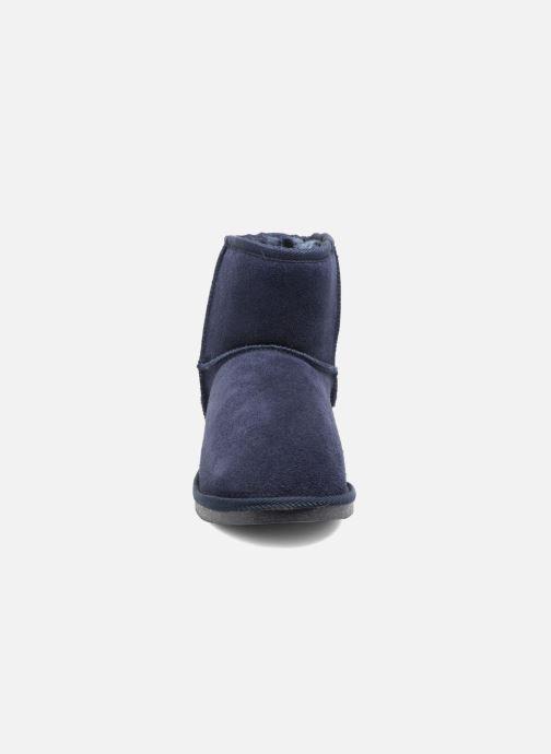 Bottines et boots Les Tropéziennes par M Belarbi Flocon Bleu vue portées chaussures