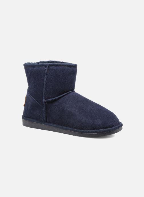 Bottines et boots Les Tropéziennes par M Belarbi Flocon Bleu vue détail/paire