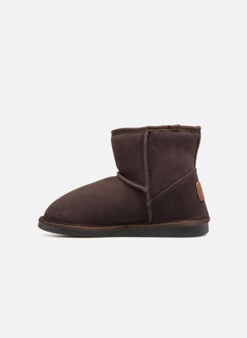 Bottines et boots Les Tropéziennes par M Belarbi Flocon Marron vue face