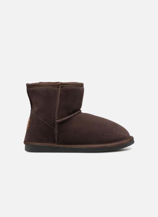 Bottines et boots Les Tropéziennes par M Belarbi Flocon Marron vue derrière