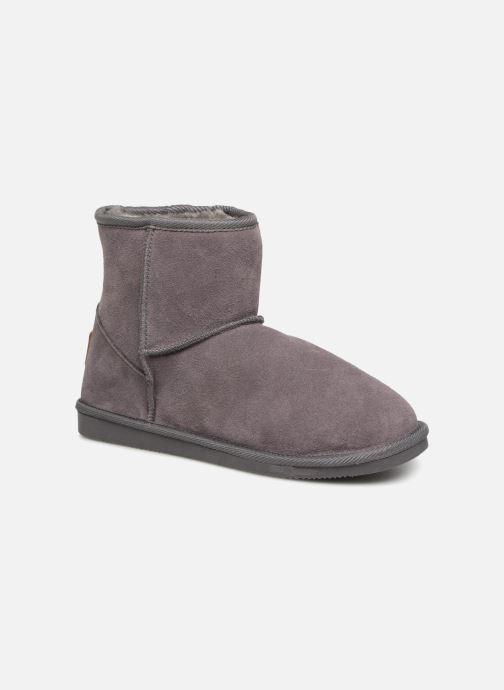 Bottines et boots Les Tropéziennes par M Belarbi Flocon Gris vue détail/paire