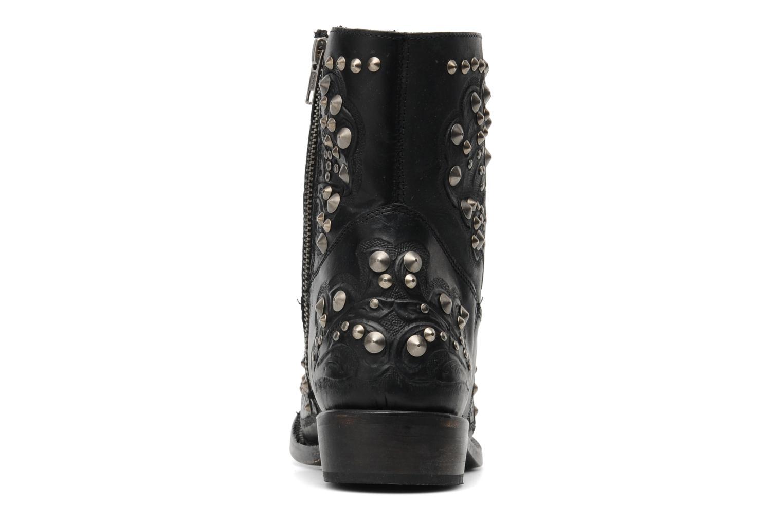 Bottines et boots Ash Volcano Noir vue droite