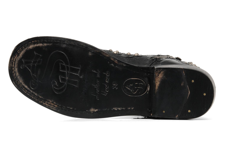 Bottines et boots Ash Volcano Noir vue haut