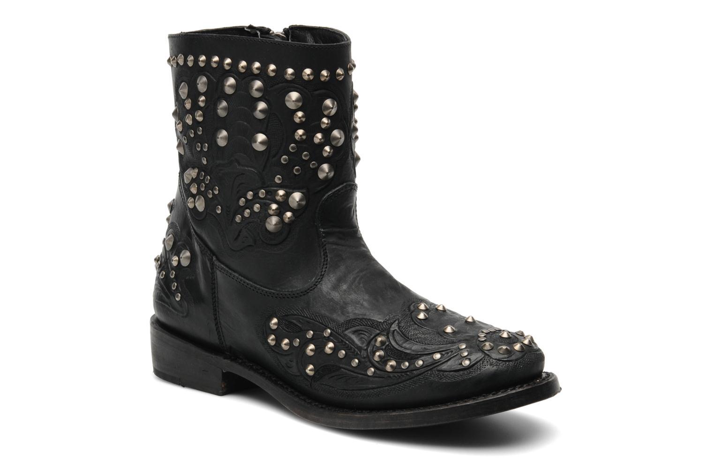 Bottines et boots Ash Volcano Noir vue détail/paire