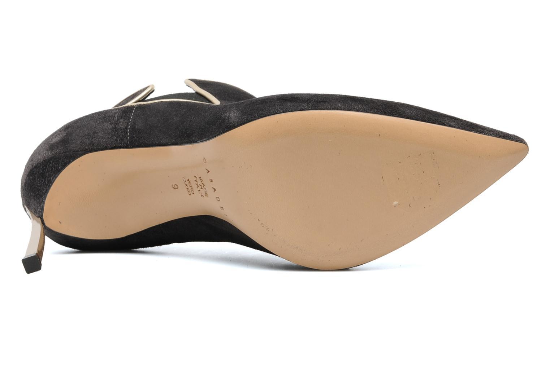 Bottines et boots Casadei Mina Gris vue haut