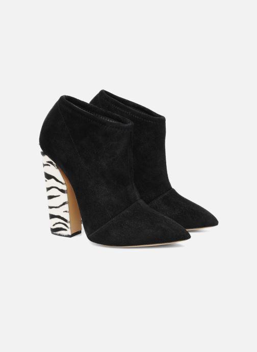 Bottines et boots Casadei Nete Noir vue 3/4