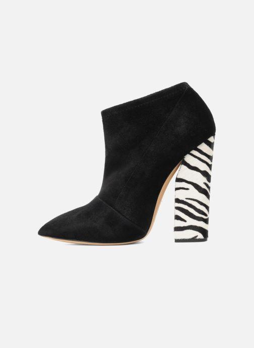 Bottines et boots Casadei Nete Noir vue face