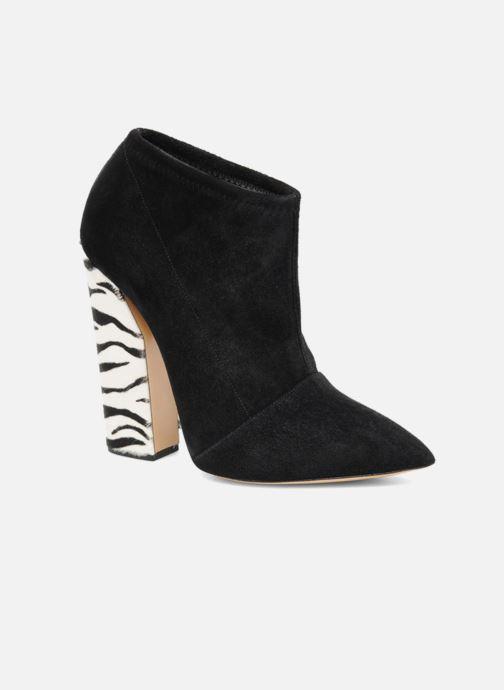 Bottines et boots Casadei Nete Noir vue détail/paire